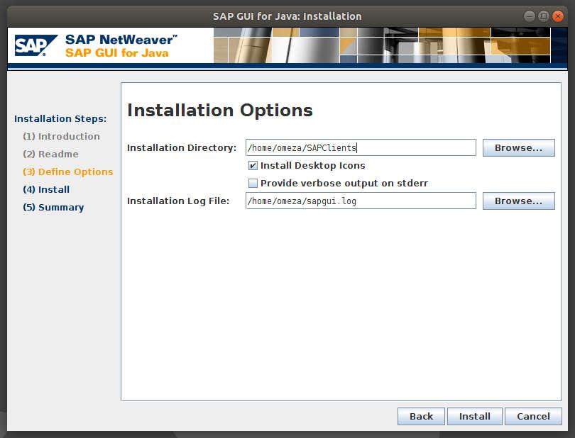 Instalar SAP GUI o SAP Logon en Linux